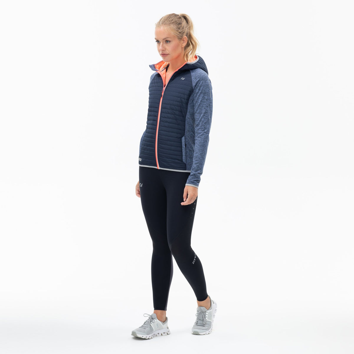 Women's Hybrid Puffa Quilted Jacket