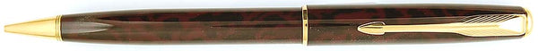 Parker Sonnet Pencil in Laque Autumn Red, France