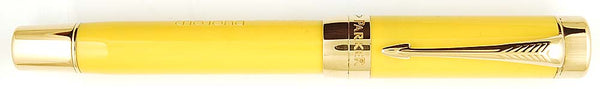 Parker Duofold Centennial Mandarin Yellow 125th Anniversary, Medium nib