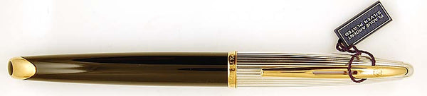 Waterman Carene Rollerball in black and silver