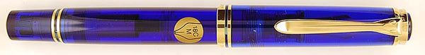 Pelikan M800 Blue Ocean Limited Edition - Medium 18k nib