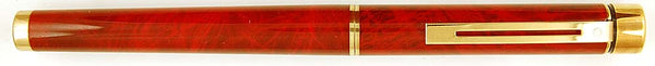 Sheaffer Targa in red ronce - Medium nib