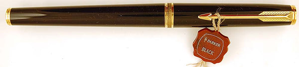 Parker Premier in black - Broad 14k nib