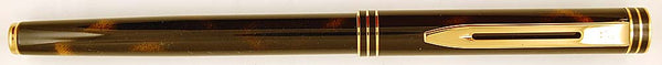 Waterman Exclusive in tiger eye - Medium 18k gold nib