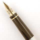 Parker 75 in silver plated grain d'orges - Needlepoint nib