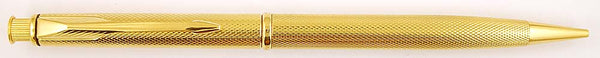 Parker Insignia Pencil in gold plated Barley finish, 0.5mm leads