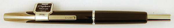 Namiki Vanishing Point in black - Medium nib