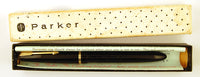 Parker Slimfold in black, Boxed - Medium nib