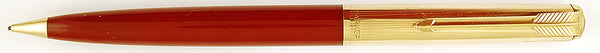 Parker 51 Custom propelling pencil in burgundy - 0.9mm leads