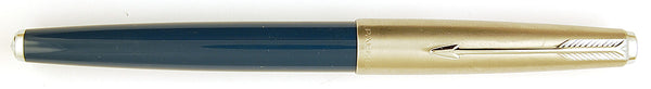 Parker 61 Classic in teal blue - Medium Italic nib