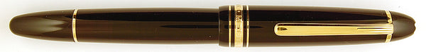 Montblanc Traveller Fountain Pen with leather travel case