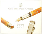 Graf von Faber-Castell Pen of the Year 2004 - Amber Room Limited Edition