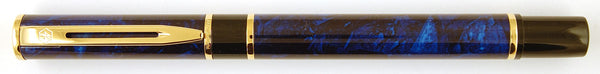Waterman Laureat Roller ball in blue marble
