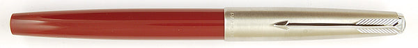 Parker 51 Classic Mk2 in burgundy with Steel cap - Broad nib