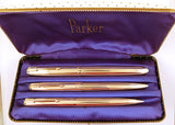 Parker 51 Insignia Triple Set - Medium nib