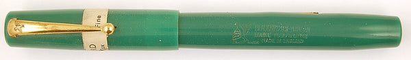 Mabie Todd Blackbird 5276 in green - Fine nib