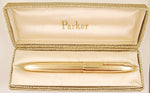 Parker 51 Presidential in 9k gold - Wavy Line Design - 1961