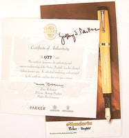 Parker Duofold Centennial Limited Editon Bumblebee London - Medium nib