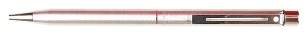 Sheaffer Targa Ballpoint in brushed steel, chrome trim