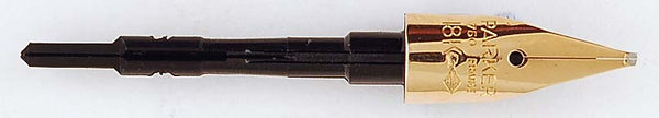 Parker 75 18k Nib #93 - Medium Reverse Oblique