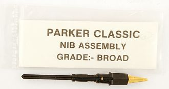 Parker Classic and 180 Nibs - Broad Only