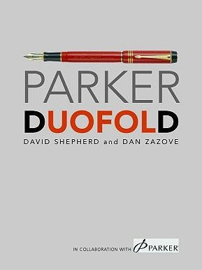 David Shepherd's Parker Duofold Book
