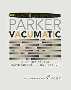 David Shepherd's Parker Vacumatic Book