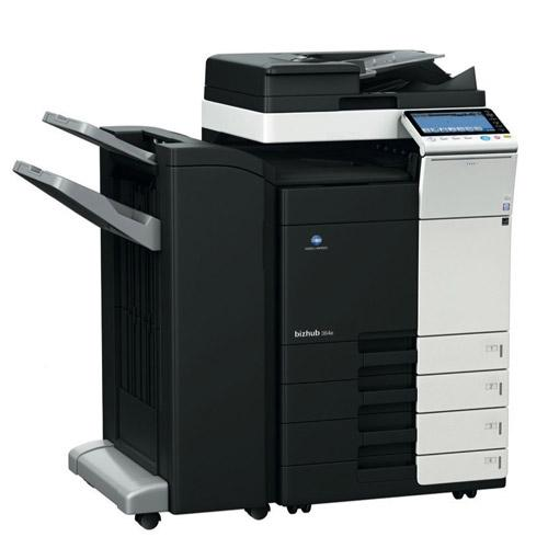 REPOSSESSED Konica Minolta Bizhub 364e Monochrome Printer Copier Scanner 11x17 A3 Only 16k Pages Printed