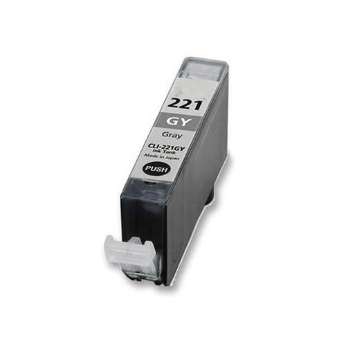 Canon CLI-221GY Compatible Grey Ink Cartridge (2950B001)