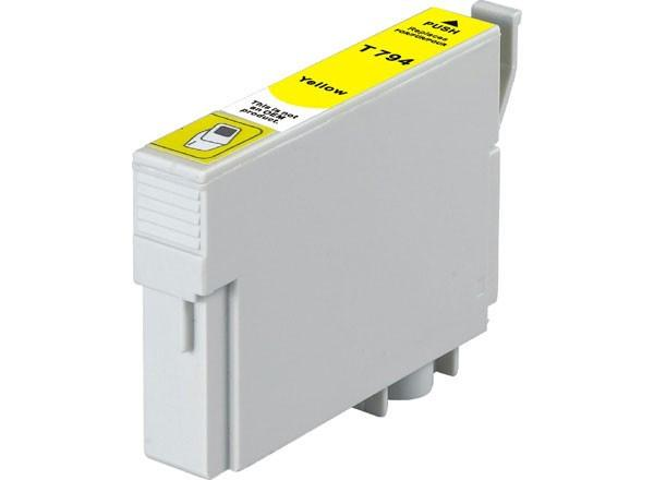 Epson T079420 Compatible High Yield Yellow Ink Cartridge (Epson 79)
