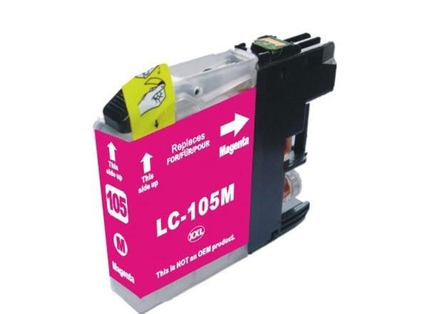 Brother LC105M Compatible Extra High Yield Magenta Ink Cartridge (LC105) - Precision Toner