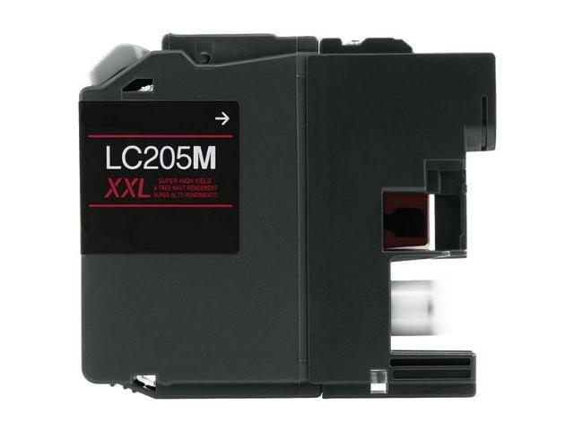 Brother LC205M XXL Compatible Extra High Yield Magenta Ink Cartridge - Precision Toner