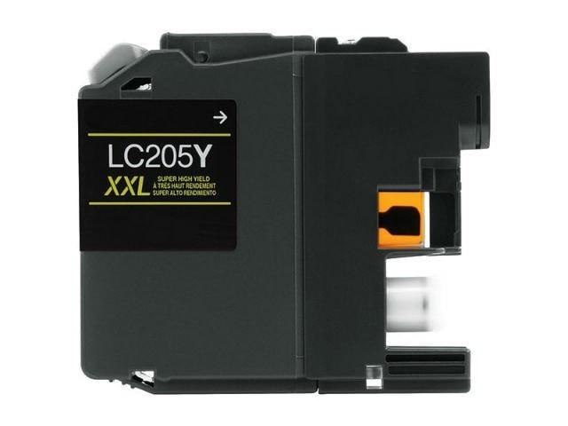 Brother LC205Y XXL Compatible Extra High Yield Yellow Ink Cartridge - Precision Toner