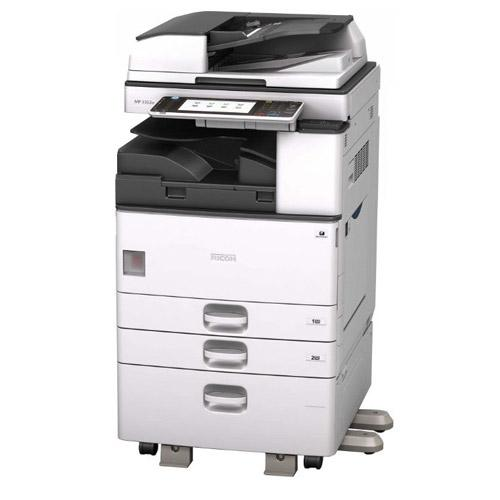 REPOSSESSED - Ricoh MP 3353 Monochrome Multifunction Photocopier 11x17 Only 47k pages