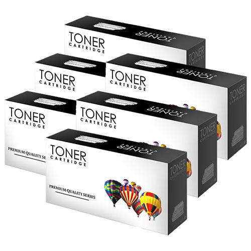Toner Cartridge Compatible with HP CF412X High Yield Yellow (HP 410X)