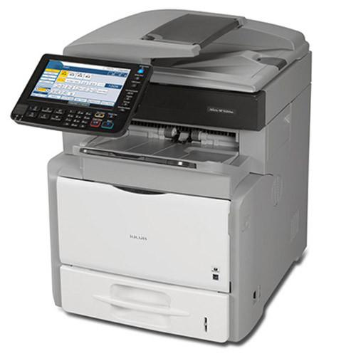 New Ricoh Aficio SP 5200S Monochrome Laser Multifunction Printer