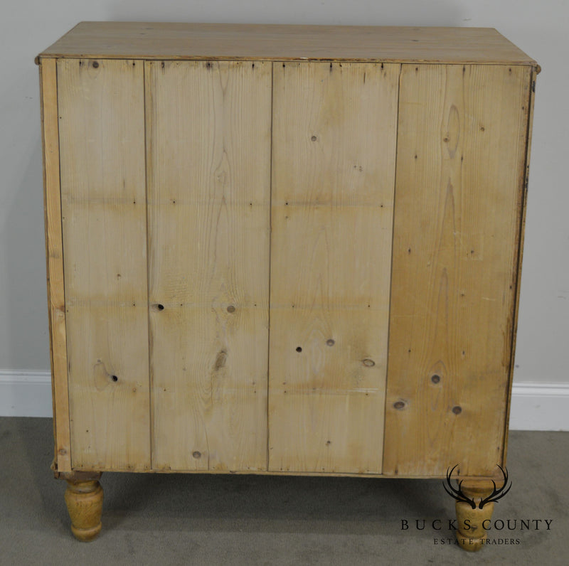 Scottish Pine Antique Chest of Drawers