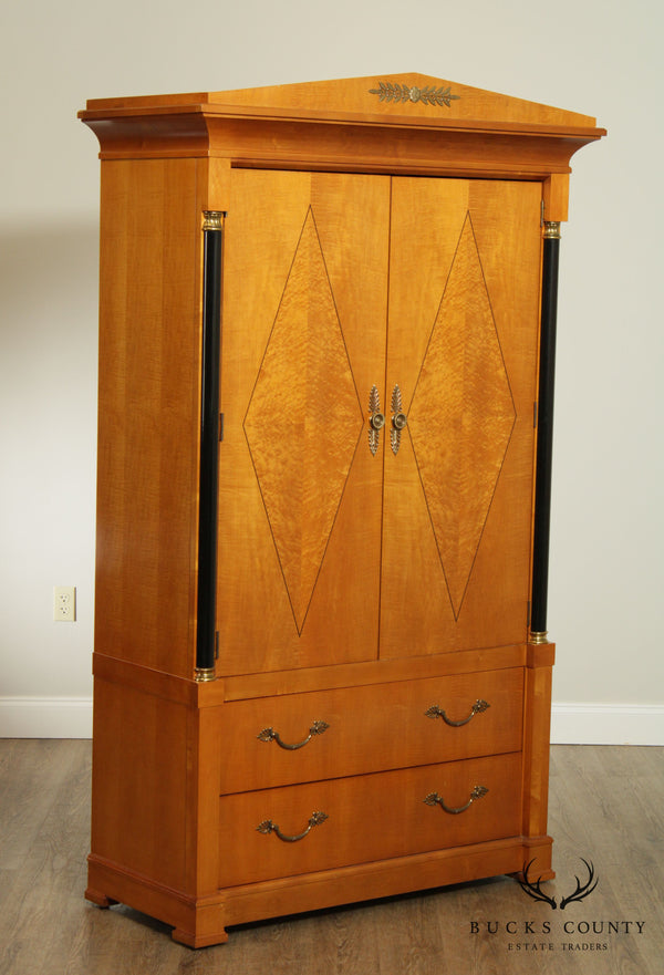 Thomasville Grand Classics Biedermeier, Empire Style Bedroom Armoire