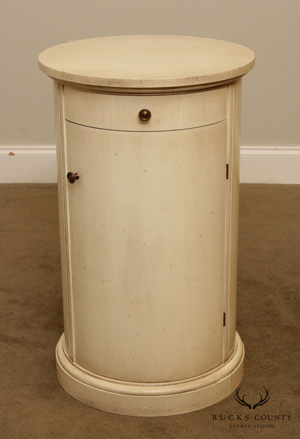 Grange French Round Cylinder Drum Side Table