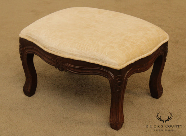 French Louis XV Style Small Footstool
