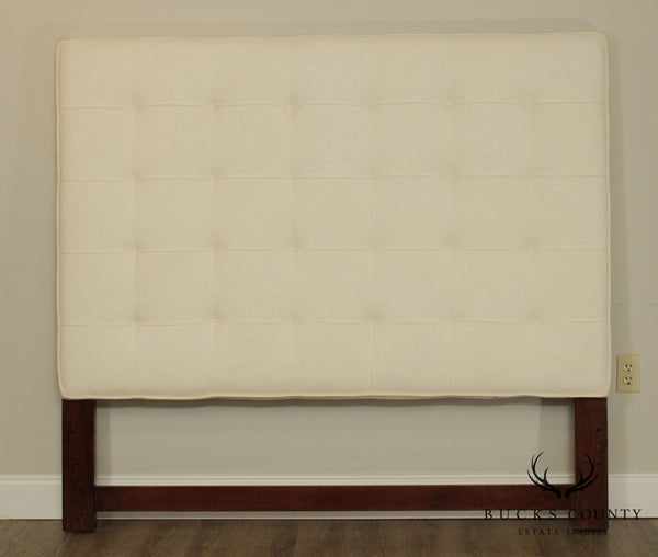 Tufted Modern High Back Upholstered Queen Headboard