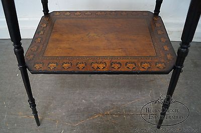 Herter Brothers Antique Aesthetic Inlaid Chicago Worlds Fair Souvenir Table