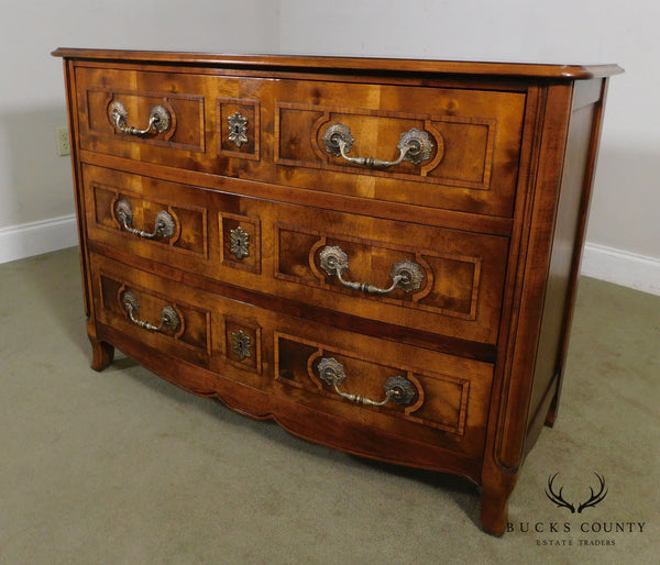 Hickory Chair French Louis XIV Style Walnut Chest of Drawers Commode