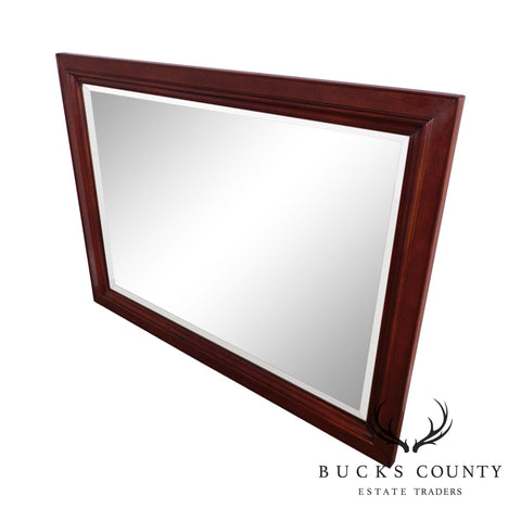 Stickley Solid Mahogany Rectangular Wall Mirror