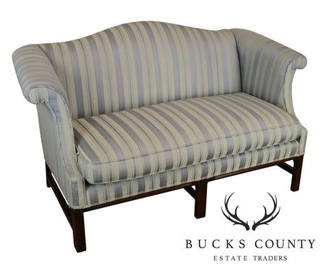 Hickory Chair Chippendale Style Mahogany Loveseat