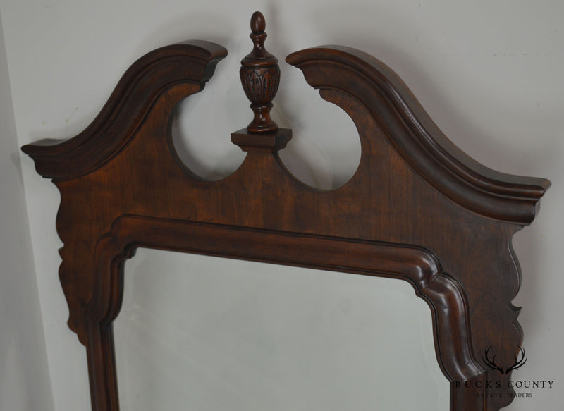 Henredon Salem Collection Dark Cherry Chippendale Mirror