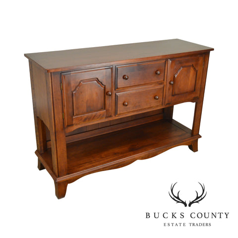 Nichols & Stone Traditional Cherry Finish Maple Sideboard