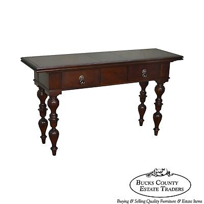 Baker Milling Road West Indies Collection Mahogany Console Table (D)
