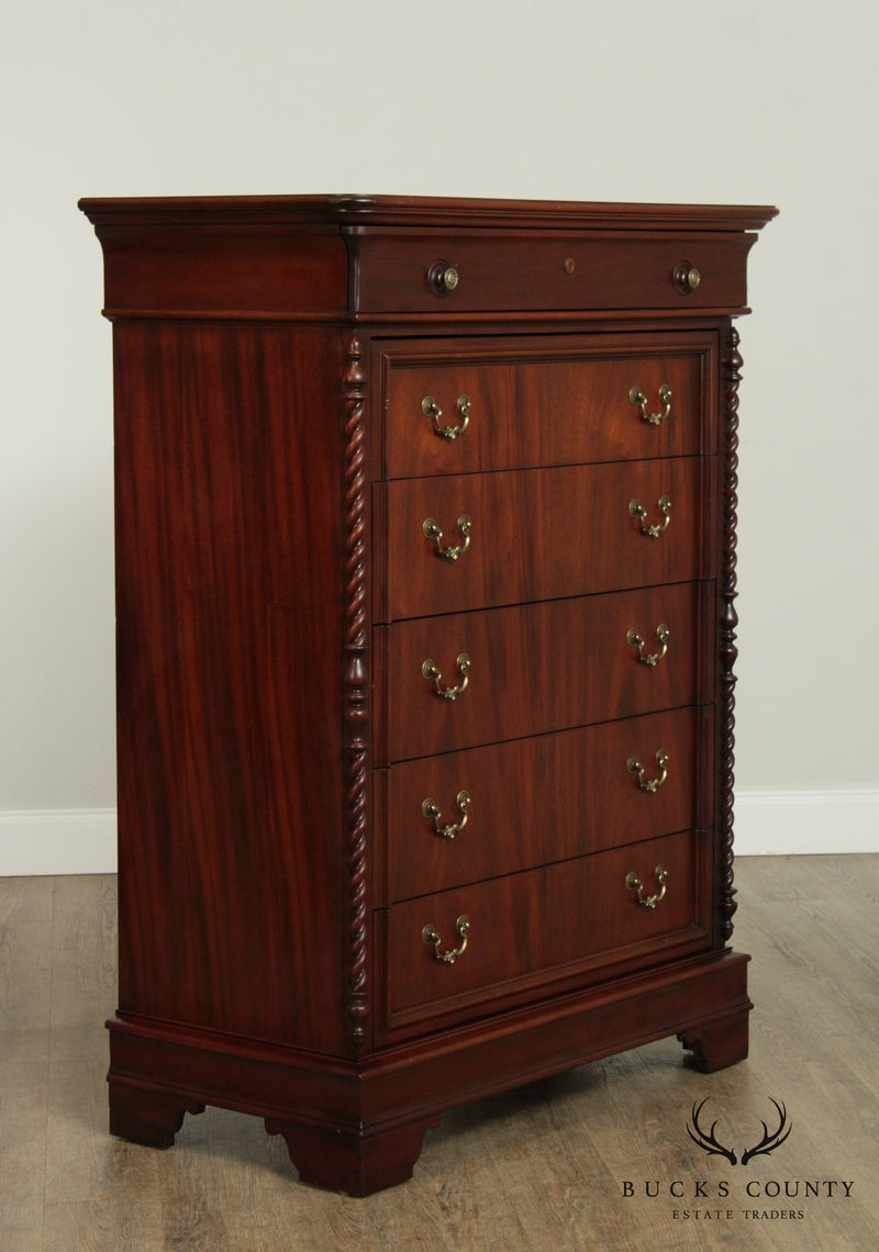 Lexington Vestiges of the Past Mahogany Tall Chest