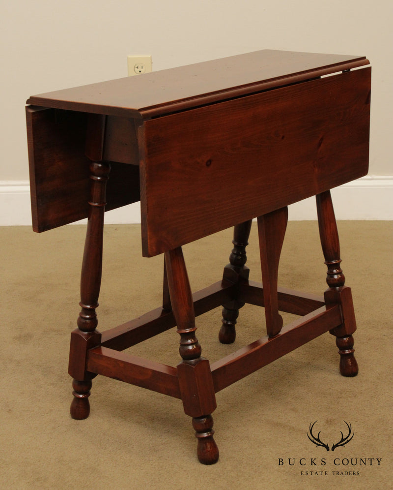 Harden Solid Pine Drop Leaf Side Table